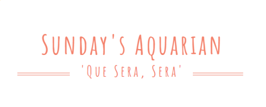 Sundays Aquarian